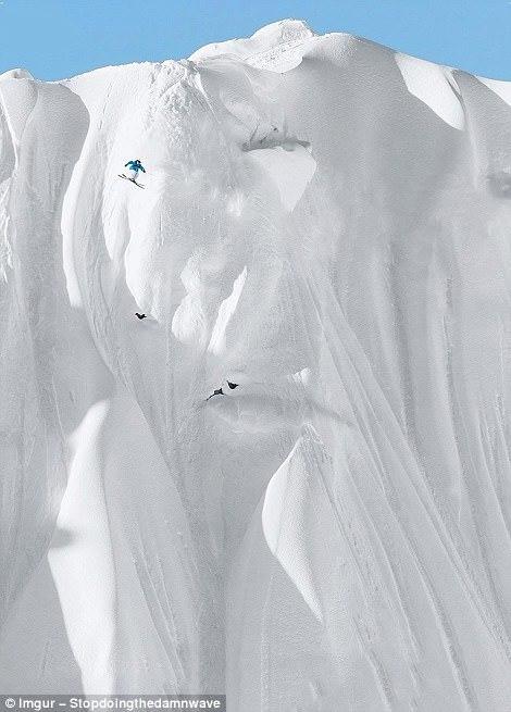Сноубординг.
