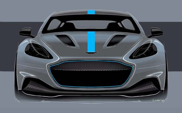 Aston Martin показал концепт своего первого настоящего электромобиля (6 фото)