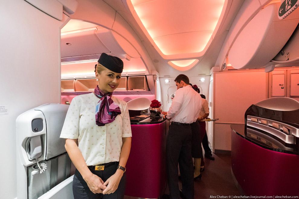 КОМФОРТ НА БОРТУ 19. Воздух в салоне Airbus А350 полностью обновляется каждые 2 минуты, в салон