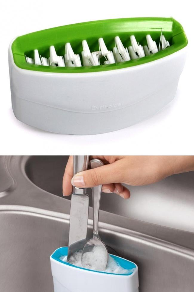© awesomeinventions  Благодаря этой щетке мытье посуды займет меньше времени. 22. Современный