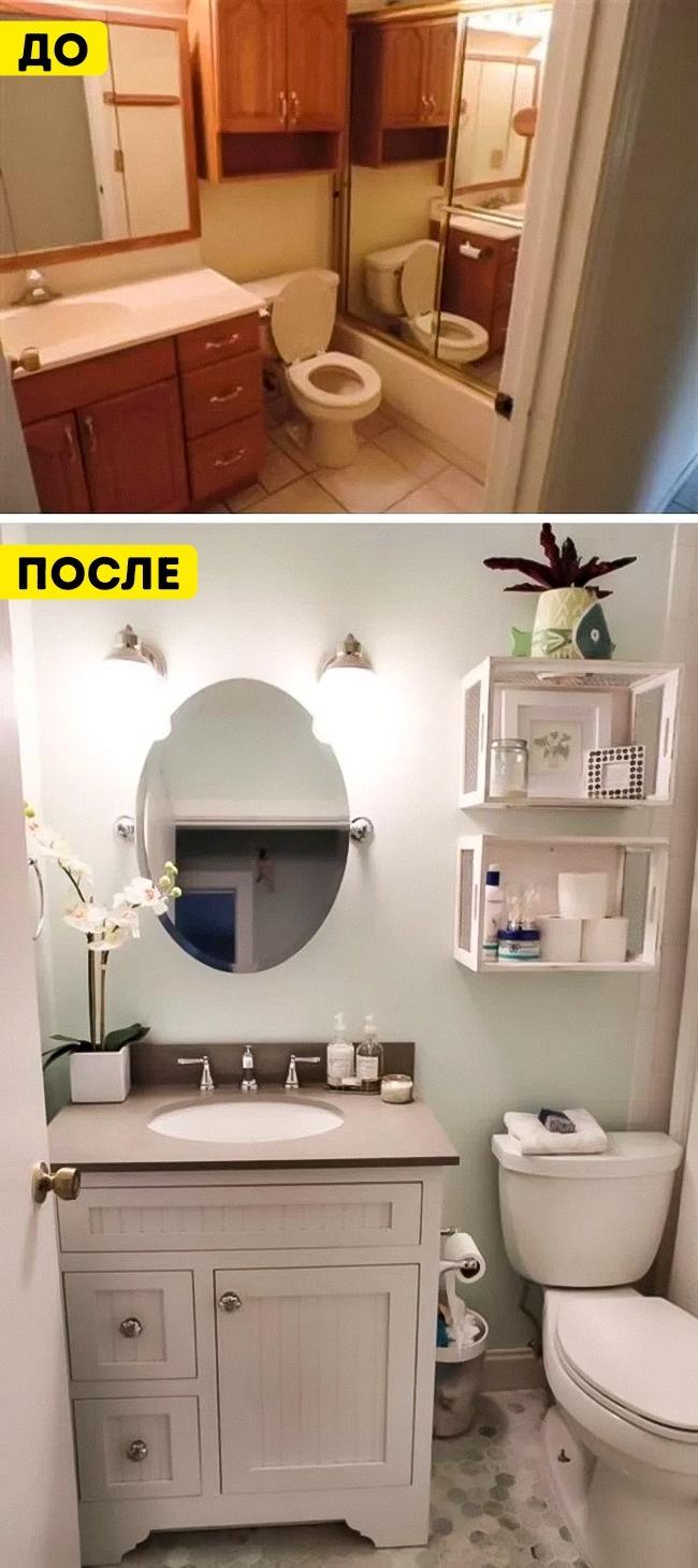 13дизайнерских решений, как превратить маленькую ванную впросторную (15 фото)
