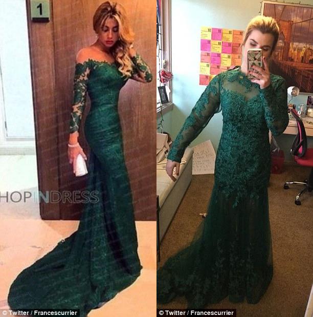 Возможно, издалека эти платья и можно принять за одно, но вблизи у них слишком много отличий.