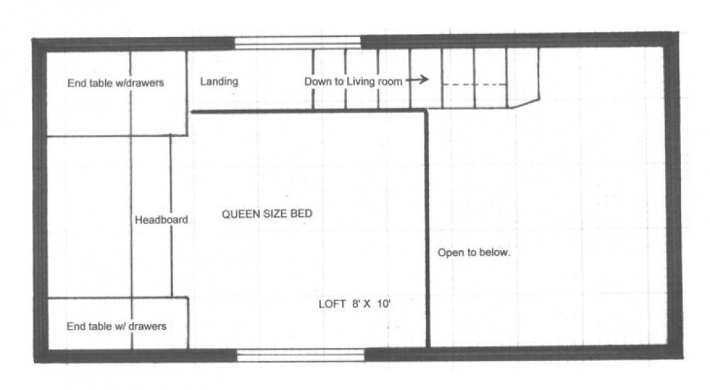 План второго этажа.