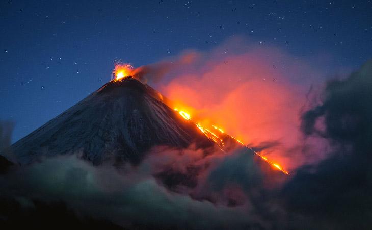 Вулканы Камчатки (16 фото)