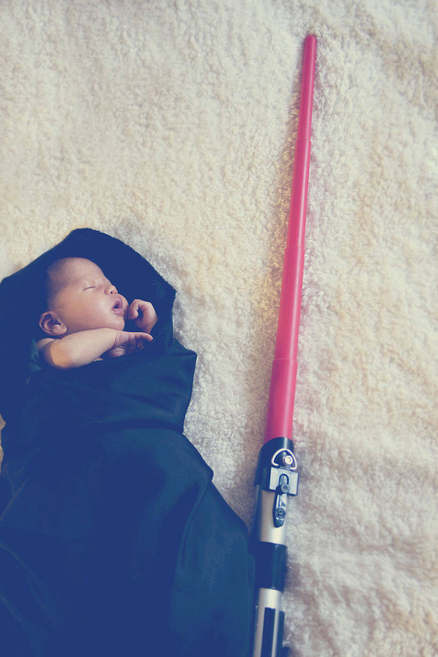 Poetic Portraits of a Baby Jedi