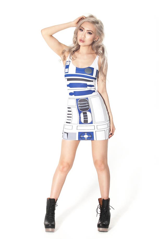 Black Milk R2D2 Star Wars Dress – Sexy Geek (5 pics)