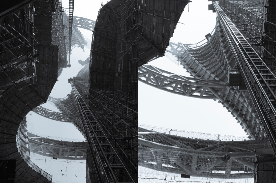 Zaha Hadid's Leeza SOHO Tower Construction Pictures (6 pics)