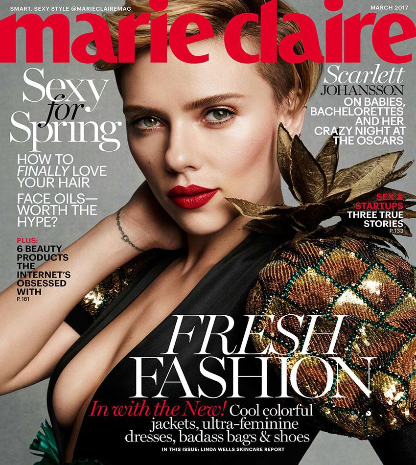 Scarlett Johansson - Marie Claire US (March 2017)