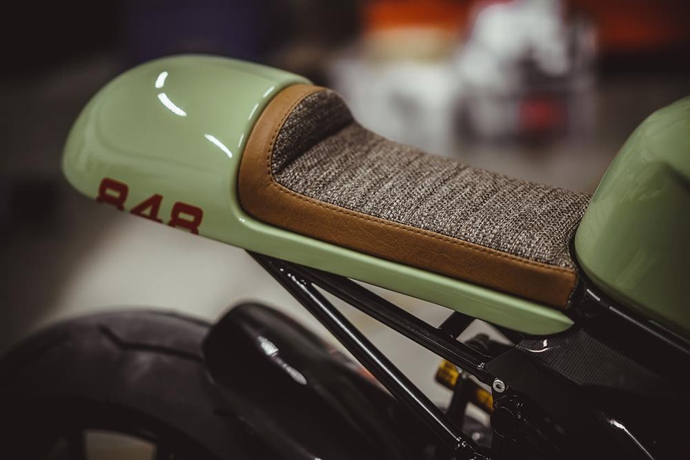 Мотоциклы NCT: нео кафе рейсер Ducati 848 EVO