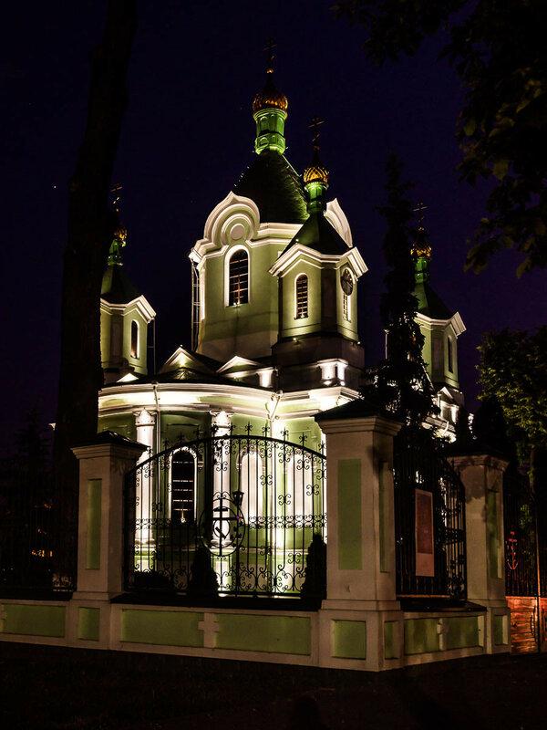 Подсветка Свято-Симеоновского