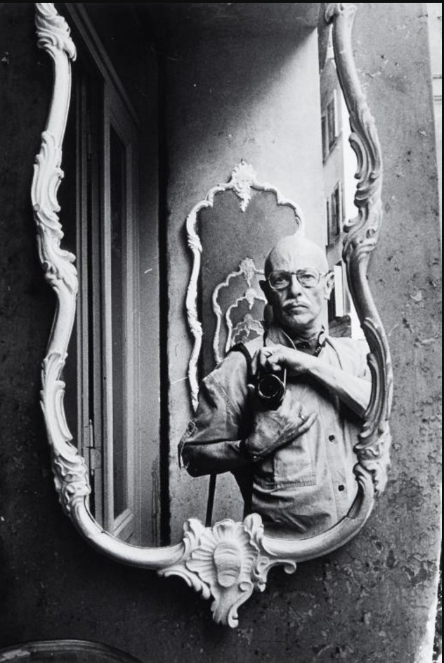 1981. Автопортрет, Венеция