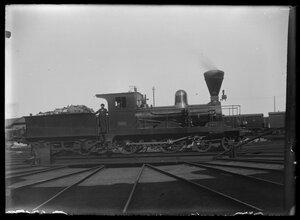 Локомотив серии A6 №94 производства Siemens & Halske AG, год выпуска 1875, отказались от использования в 1928
