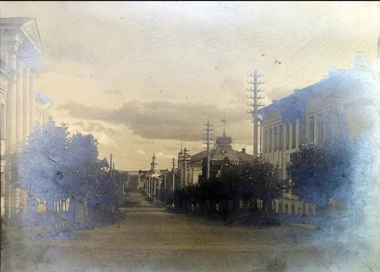 Перспектива Владимирской улицы с Театральной площади