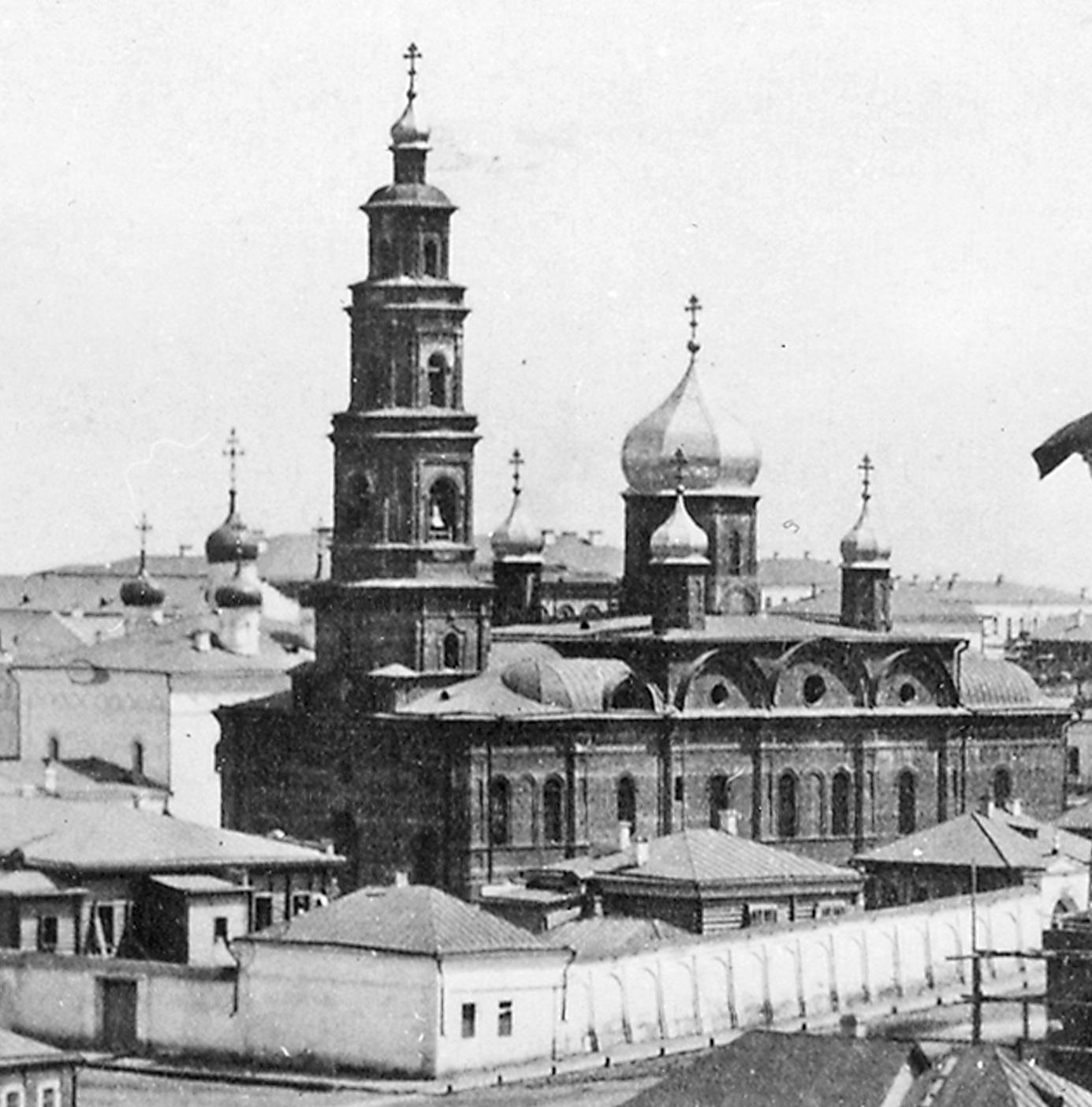 Спасский Новодевичий женский монастырь. Иверская церковь