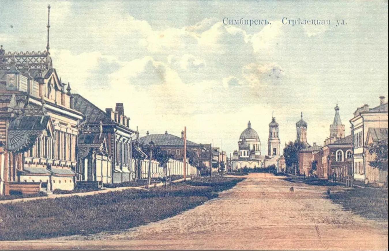 Стрелецкая улица, вид с севера