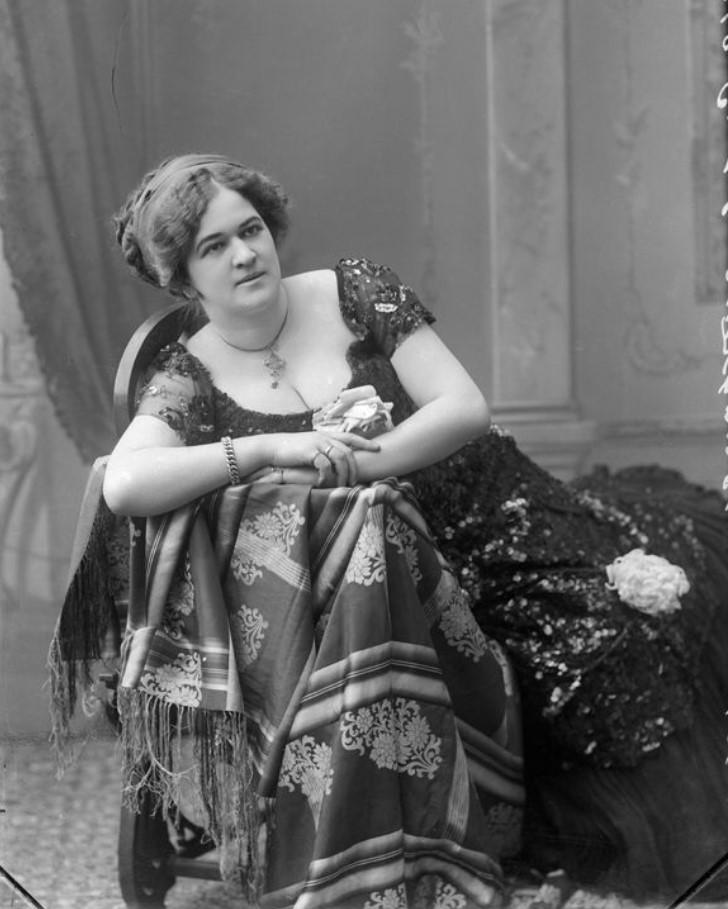 1913. Егорова - шансонетка Нижегородской ярмарки