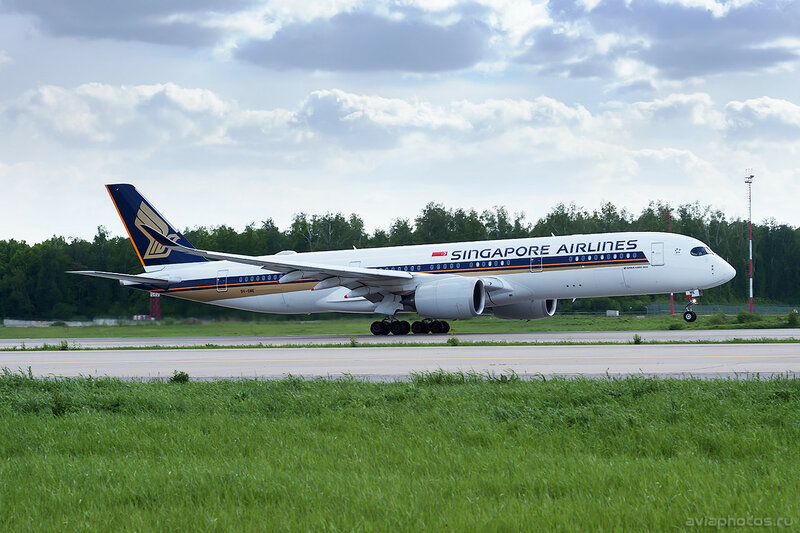 Airbus A350-941 (9V-SME) Singapore Airlines 318_D701886