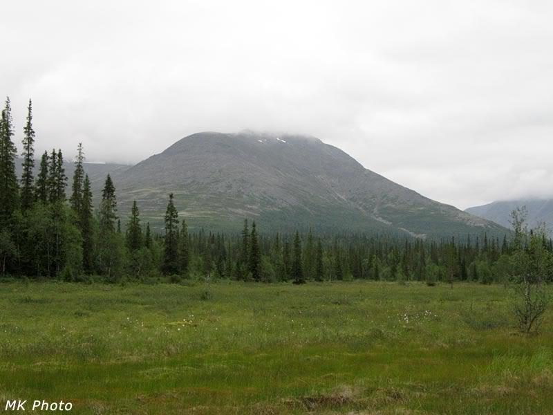 Гора Юдычвумчорр в облаках