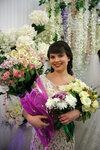 подружка с цветами