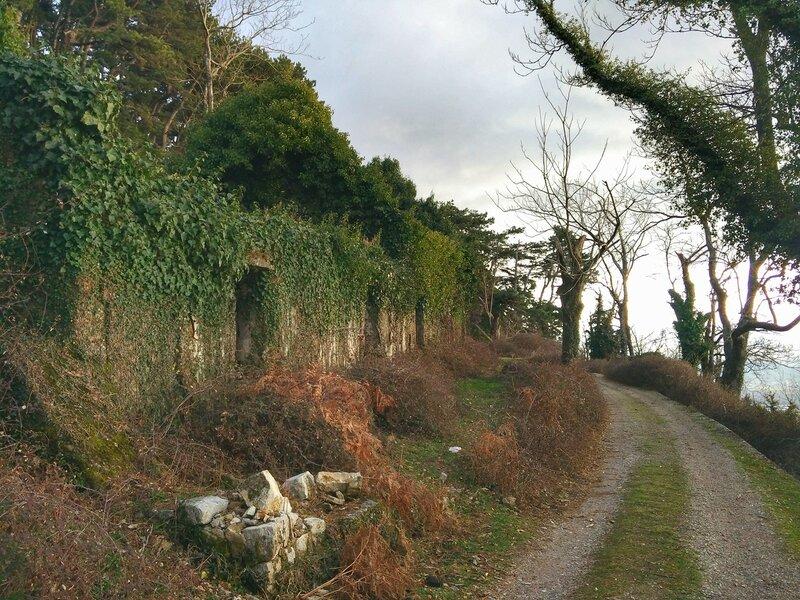 полуостров Врмац, пешая прогулка