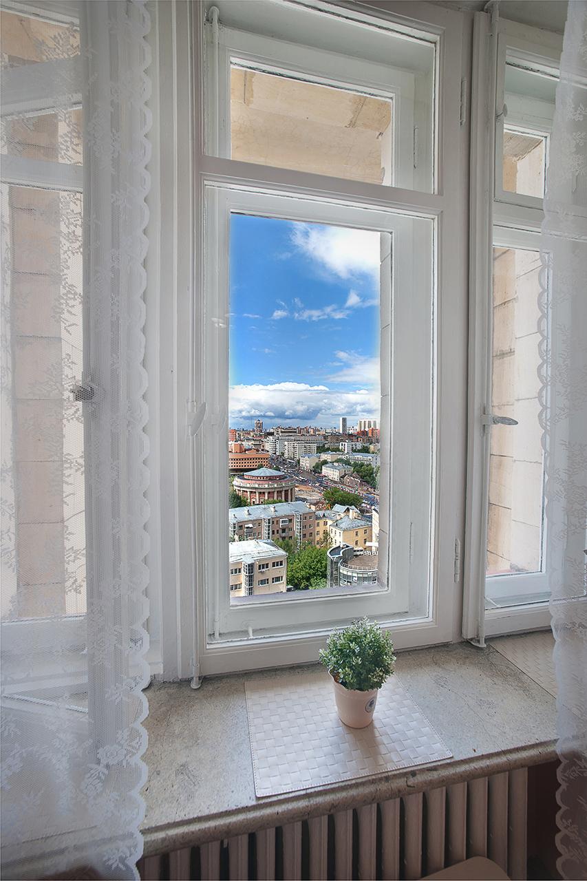 фотосъемка интерьера для продажи. Вид из окна