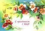 1 мая! С праздником! Нежные цветы открытки фото рисунки картинки поздравления