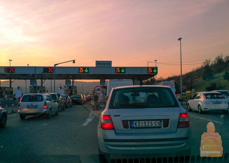 Платные дороги в Сербии