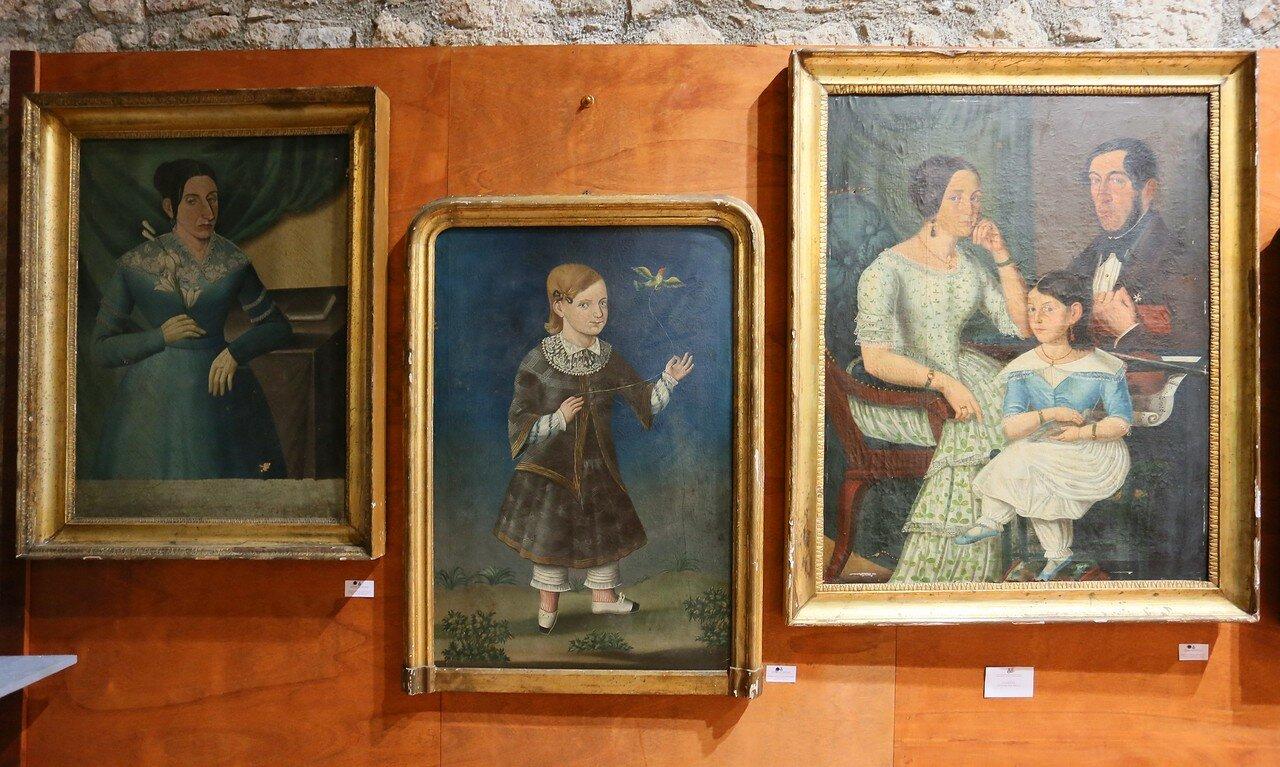 Taormina. The Museum of popular arts and traditions (Museo Siciliano di Arte e Tradizioni Popolari). Works by provincial artists