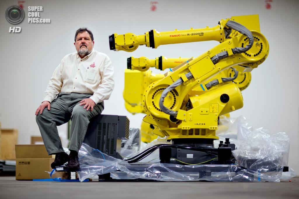США. Атланта, Джорджия. 15 января. Совладелец и президент Factory Automation Systems Россер Прио