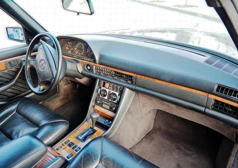 Mercedes-Benz W126 – Прикосновение к прекрасному