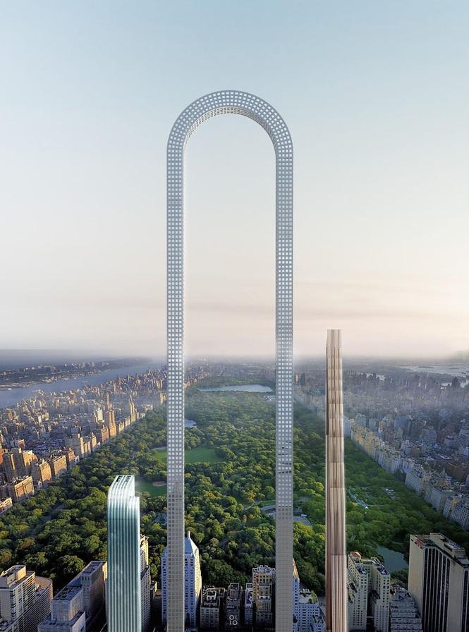 В сердце Нью-Йорка каждый квадратный метр стоит целое состояние. Но плотность застройки такова, что,