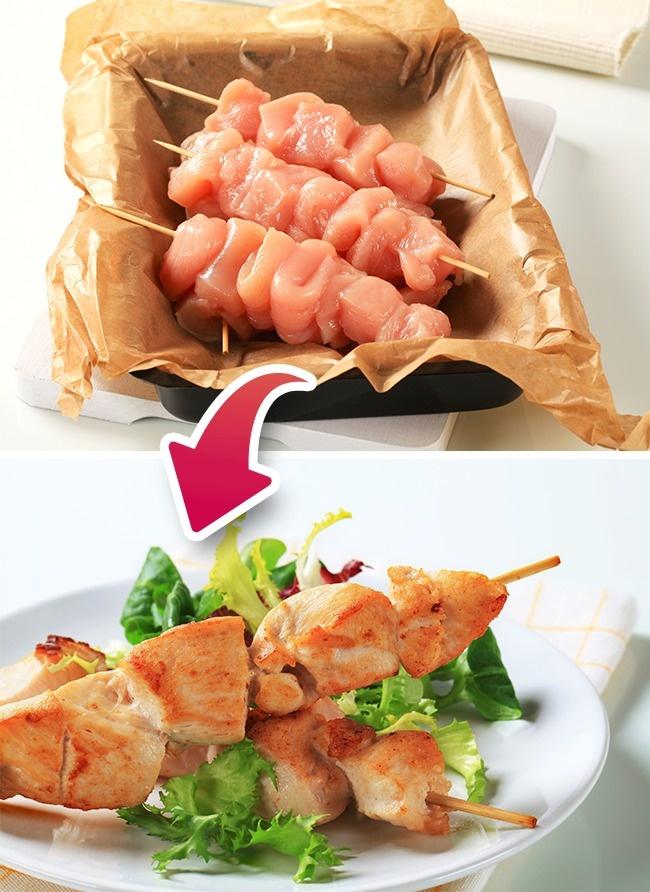 © depositphotos.com  Марта Стюарт советует запекать целую курицу ииндейку, заворачивая вбума