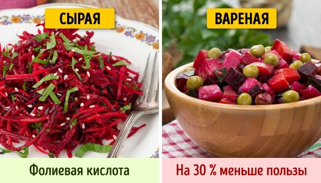 © depositphotos.com  Свекла— прекрасный источник фолиевой кислоты . Однако, если сварить еед