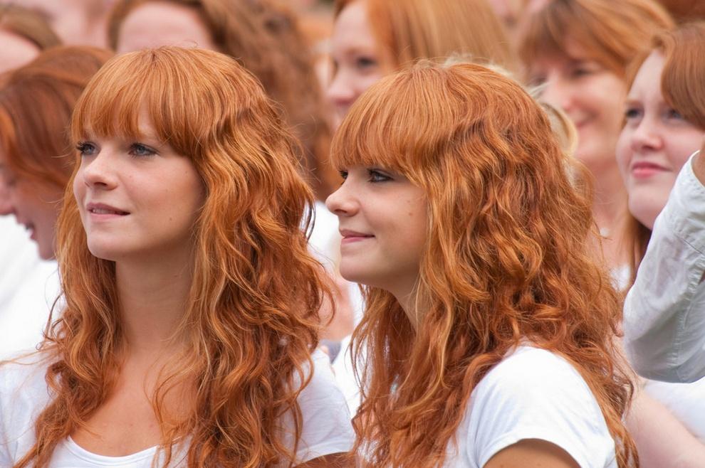 Потрясающе Красивые Рыжеволосые Девушки