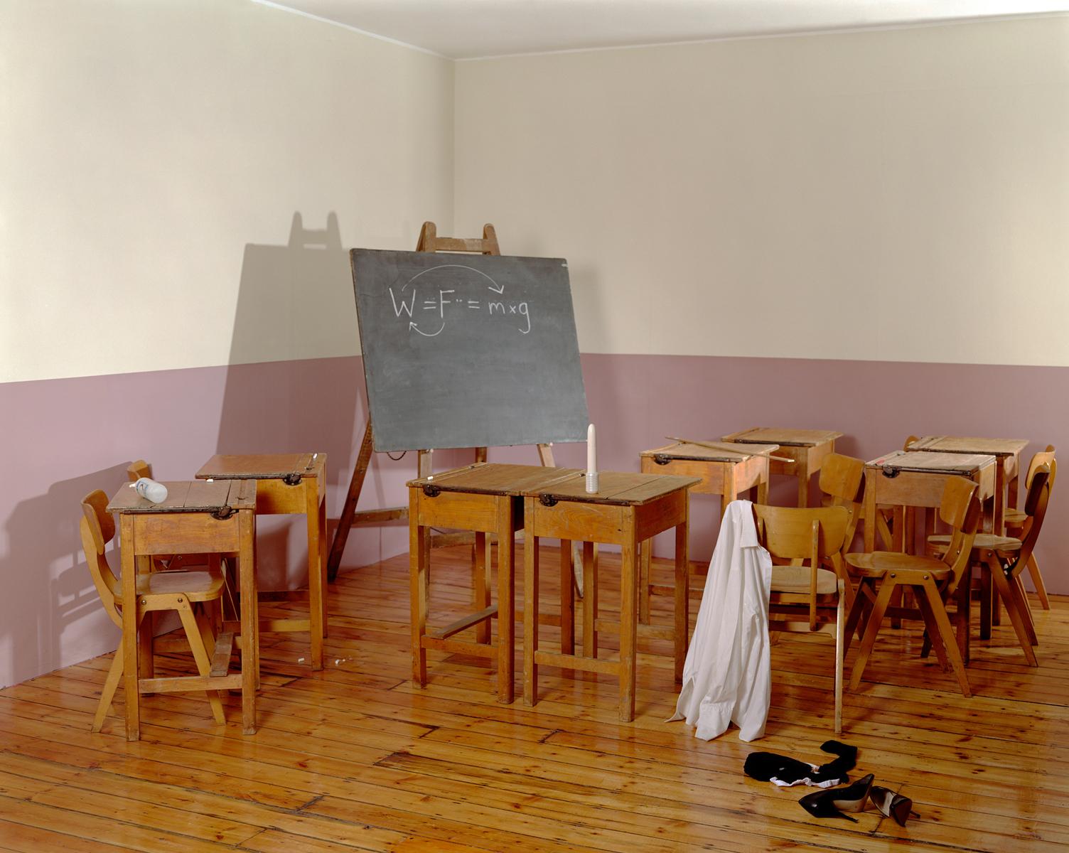 Сцена в классе.