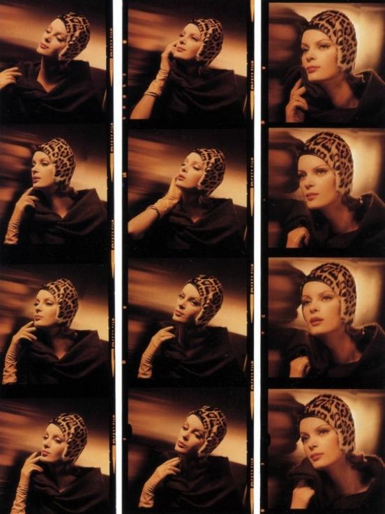 Фотографы культивировали ее аристократизм, утонченность, шарм и доверяли ей позировать в самых умопо