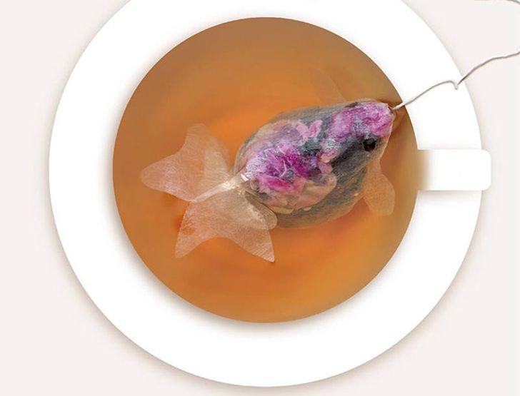 5. До недавнего времени подобные чайные пакетики можно было купить только на Тайване, но сейчас они