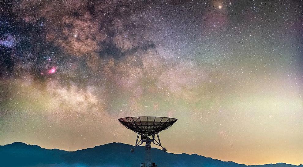16. Звездный пейзаж в Сноудонии, Северный Уэльс. (Фото Kris Williams):