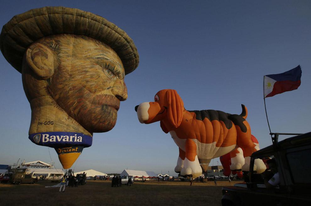 Шар Винсент Ван Гог. (Фото Erik De Castro):