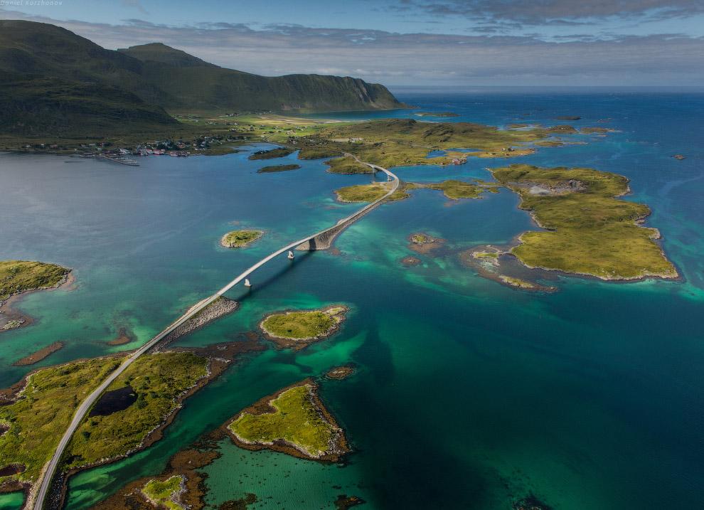 Многоуровневые озера — одна из самых красивых особенностей островов: