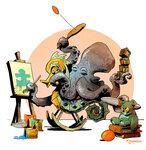 octopus-otto-and-victoria-steampunk-illustrations-brian-kesinger-26-59438b7f66cab__880.jpg