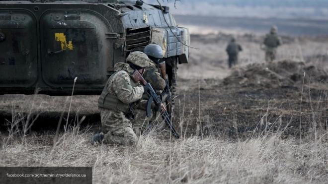 ДНР: Взону конфликта наДобассе прибыли военные профессионалы изсоедененных штатов