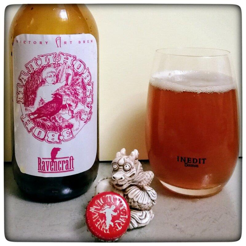 Victory Art Brewery Ravencraft Малиновый Звон