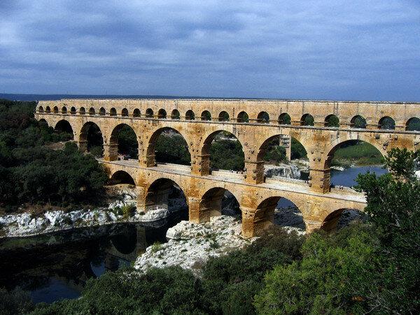 акведук, архитектура, Понт-дю-Гар