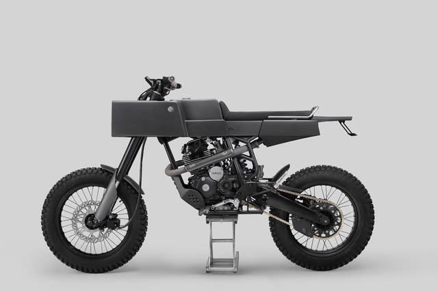 Aluminium-Made Futuristic Motorcycle