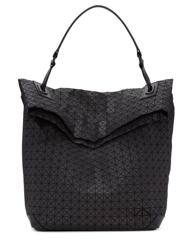 Bao Bao Issey Miyake Black W Face Messenger Bag