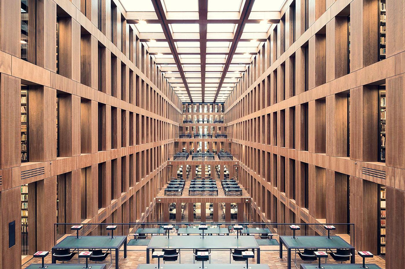 Grimm Zentrum Library, Berlin, 2009