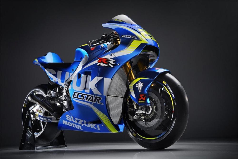Фотографии прототипа Suzuki GSX-RR 2017