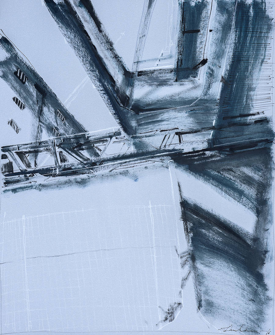Paintings of Industrial & Urban Places
