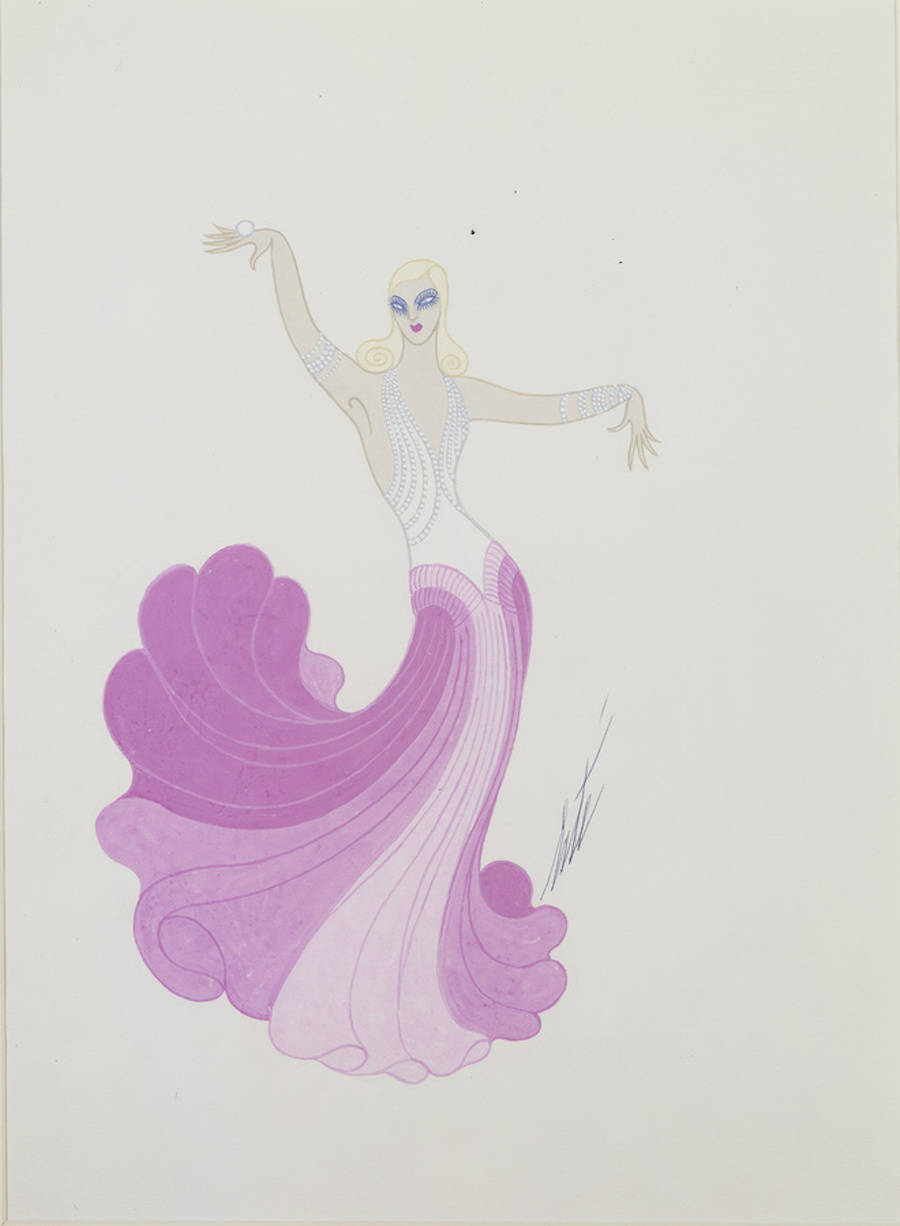 The Iconic Art Deco Drawings of Erte
